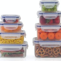 Popit! Plastic Food Storage Containers 16 Piece Set