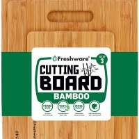 Cutting Boards for Kitchen [Bamboo, Set of 3]