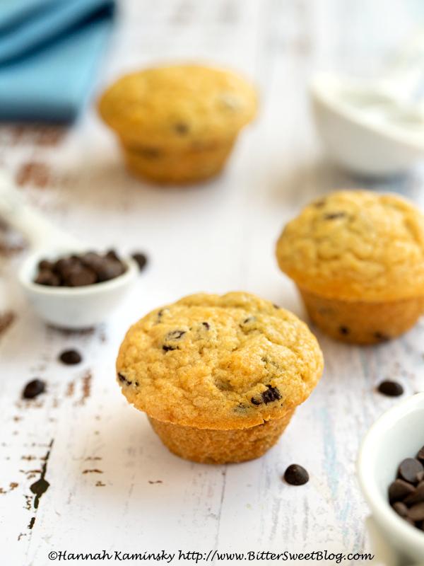 Mini Mouthful Chocolate Chip Muffins (Entenmann's Little Bite Copycat)
