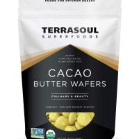 Terrasoul Superfoods Organic Cacao Butter Wafers, 1 Lb