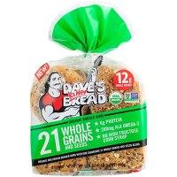 Dave's Killer Bread 21 Whole Grains & Seeds Bun 8Count, 17.6 Oz