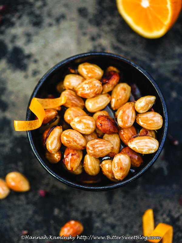Sichuan Orange Candied Almonds