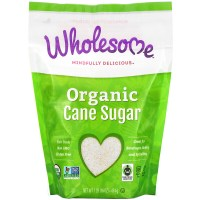 Wholesome, Organic Cane Sugar, 1 lb (454 g)