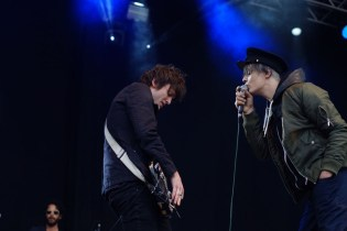 Pete Doherty live at Bingley Festival