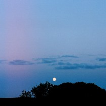 Moon-rise at Norrby, Sweden