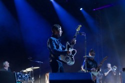 Noel Gallagher's High Flying Birds performing at Bingley Music Live