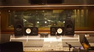 Album Recording Sessions - Low Four Studio - Mixing Desk