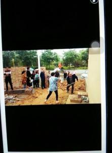 Villagers fight believers.