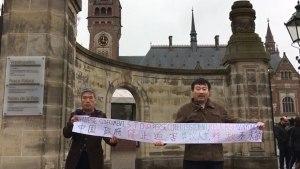 Chinese human rights activist Ma Yongtao