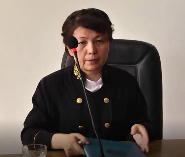 Judge Dinara Quiqabaeva