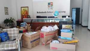 Items are cleared out from the school.