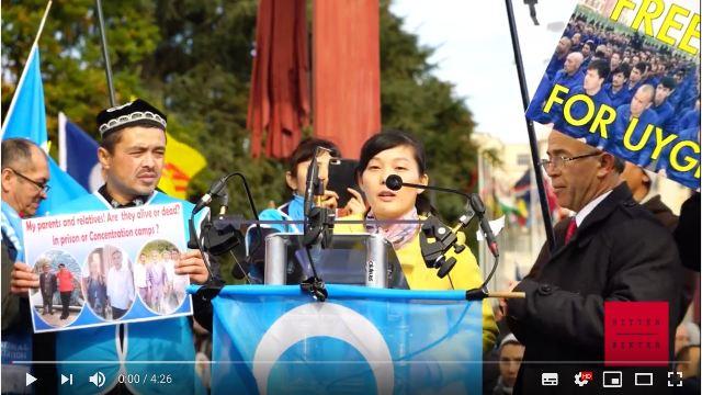 Wu's speech in Geneva