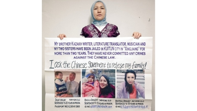 Gulaisha Oralbay advocating for her siblings in Istanbul.