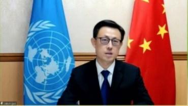 Chinese representative to the U.N., Guo Jiakun.