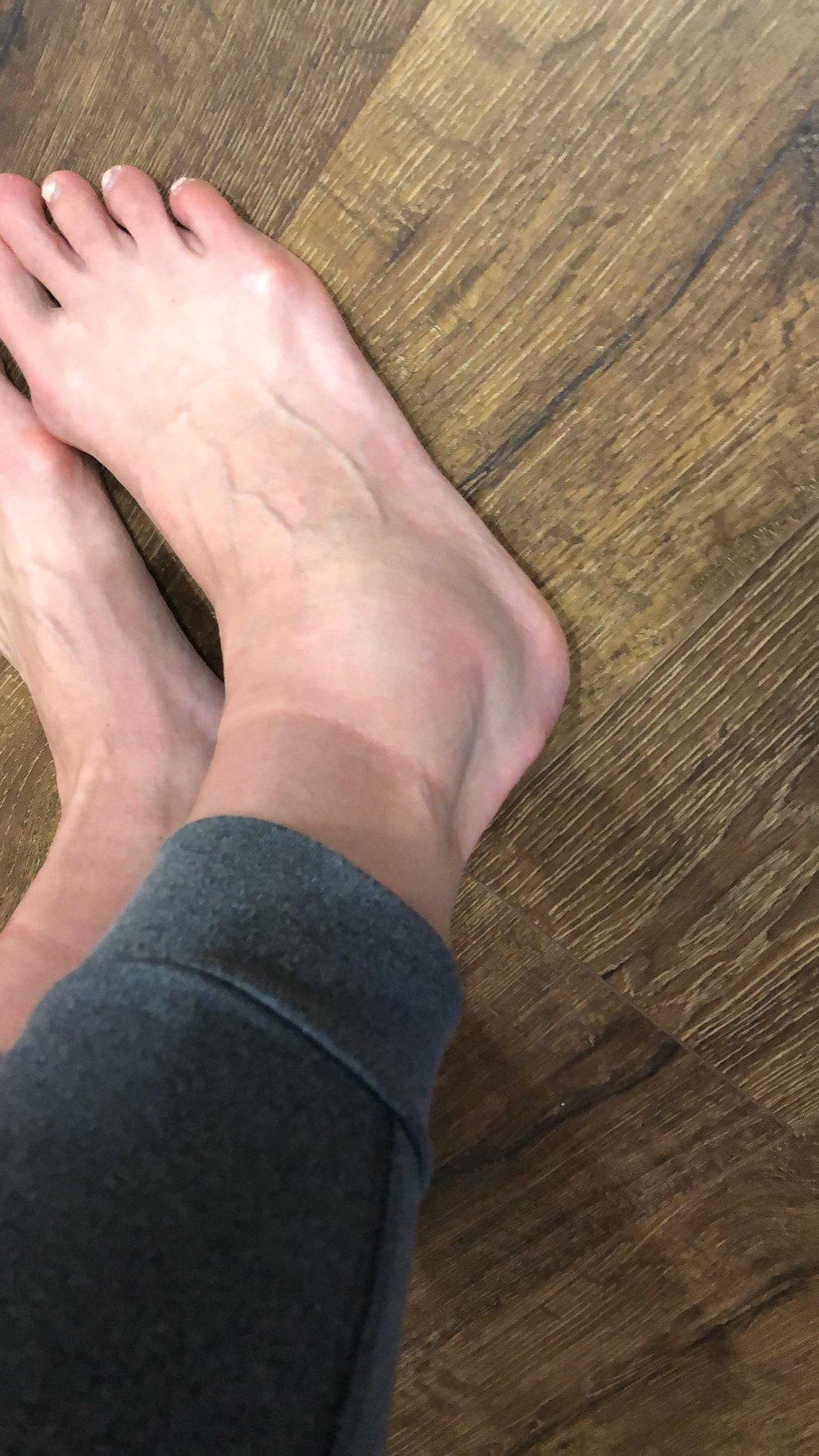 Day 2 ankle twist