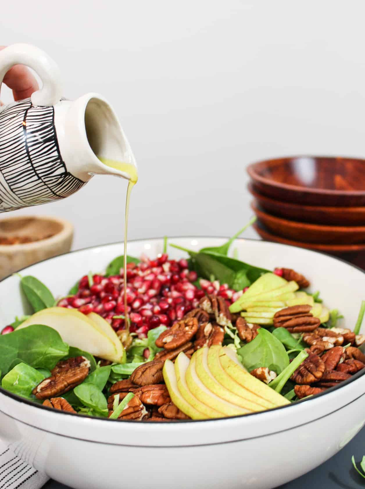 5 benefits of Pomegranate & A Winter Salad with Pomegranate Seeds