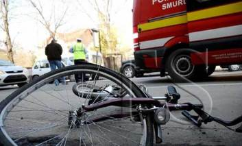 Tot mai multe accidentari cu bicicleta. Un barbat s-a ranit grav in timp ce cobora o panta