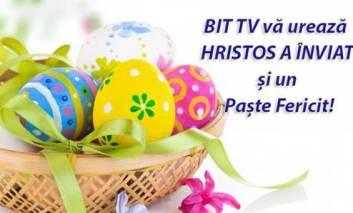 Echipa BIT TV vă urează Hristos a Înviat și un Paște Fericit !