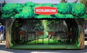 Kosarom a creat o stație prin care le amintește ieșenilor să iasă mai des la iarbă verde