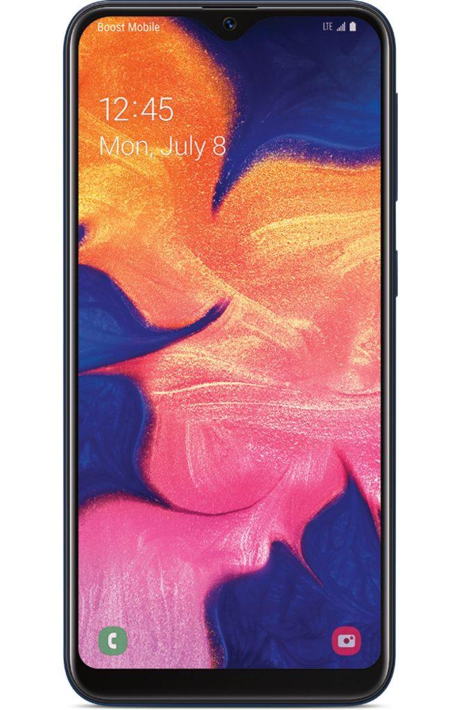 screenshot Samsung Galaxy A10e