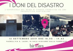 Bitways_I doni del disastro