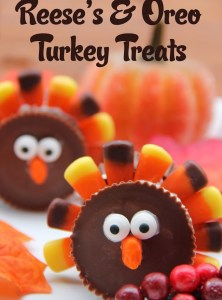 Reese's & Oreo Turkey Treats