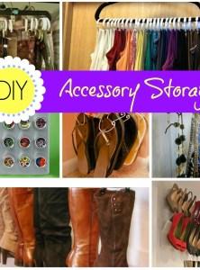 DIY Accessory Storage