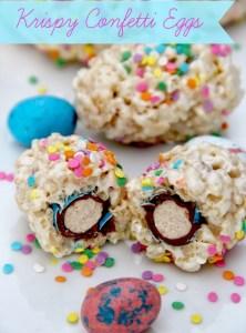 Krispy Confetti Eggs