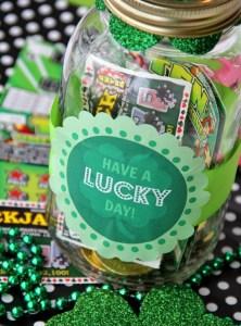 Lucky Day Mason Jar Gift
