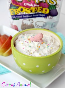 Circus Animal Cookie Dip
