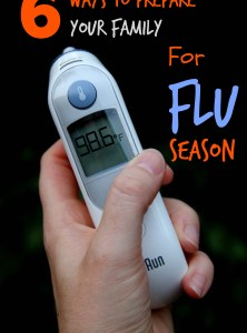 6 Ways to Prepare Your Family for Flu Season
