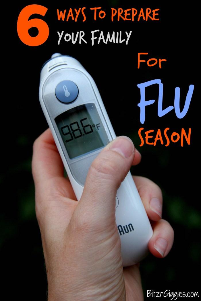 6 Ways to Prepare for Flu Season - Bitz & Giggles