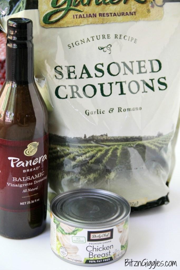 Balsamic Chicken Salad - Bitz & Giggles