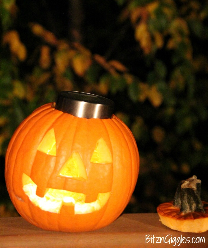 Solar Light Pumpkin