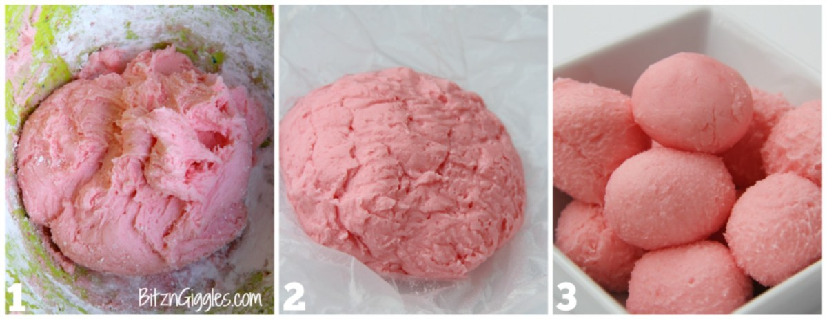 Strawberry Jello Truffles