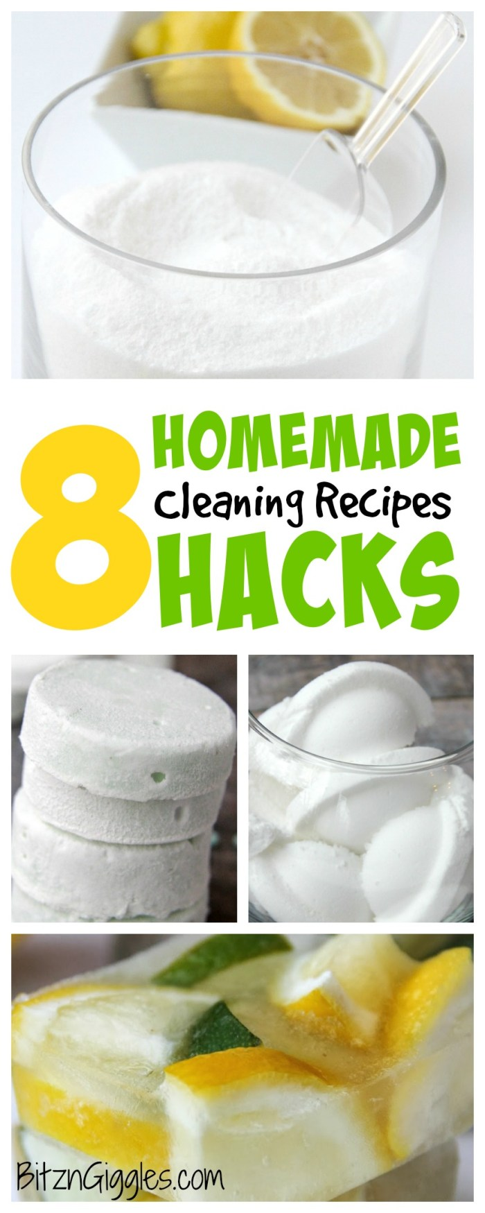 8 Homemade Hacks: Cleaning Recipes