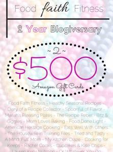 A Blogiversary Celebration & $1,000 Giveaway