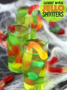 Gummy Worm Jello Shooters
