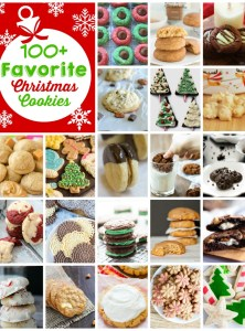 100+ Favorite Christmas Cookies
