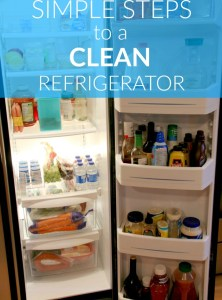 Simple Steps to a Clean Refrigerator