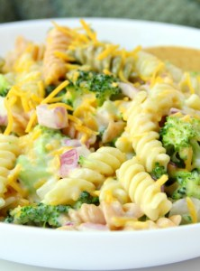 Cheddar Broccoli Pasta Salad