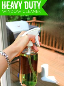 Heavy Duty Homemade Window Cleaner