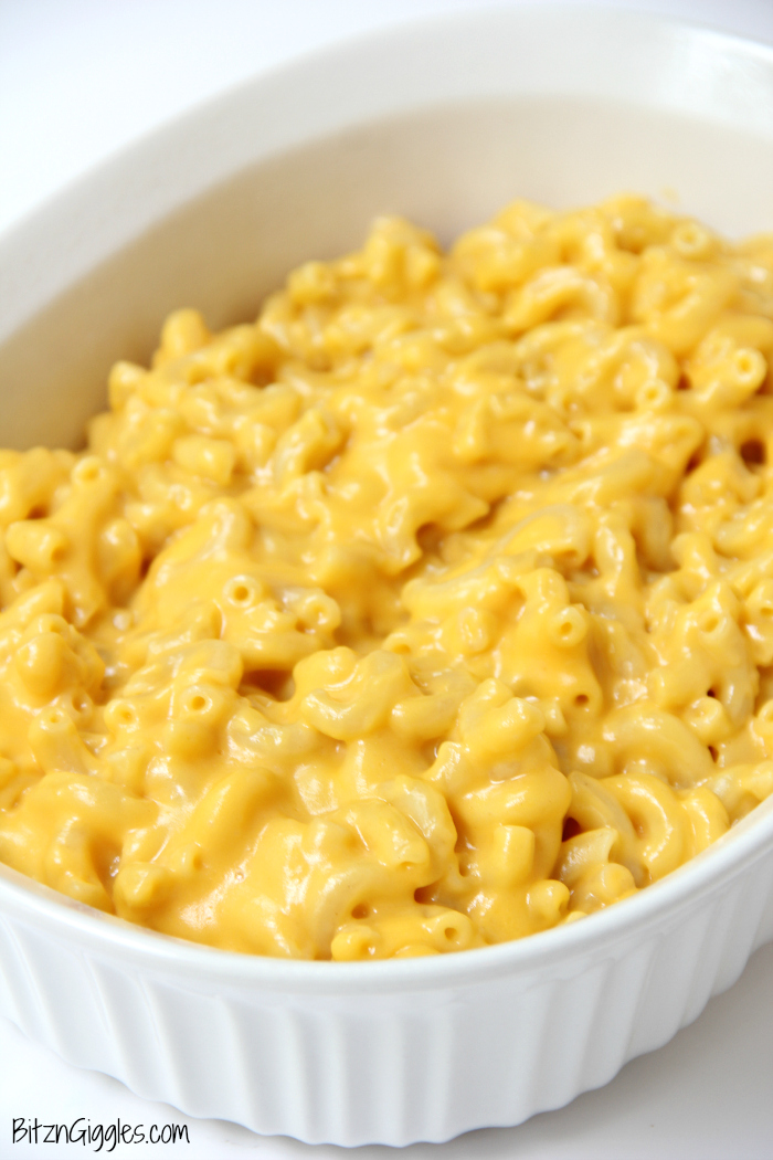 Ritz Cracker Macaroni and Cheese - This is some of the creamiest, cheesiest Mac and Cheese you will ever taste. I love the crunch of Ritz crackers on top!