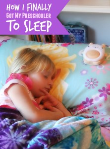 How I Finally Got My Preschooler to Sleep