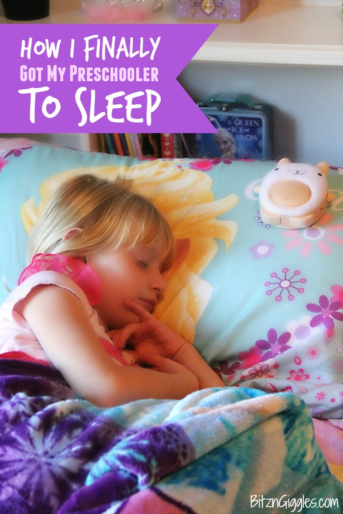 How I Finally Got My Preschooler to Sleep - If you feel like you've tried everything to get your little one to sleep, I have one more idea for you!