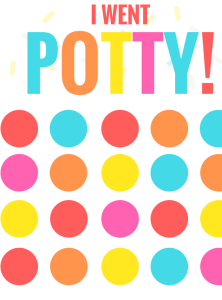 Printable Potty Training Chart