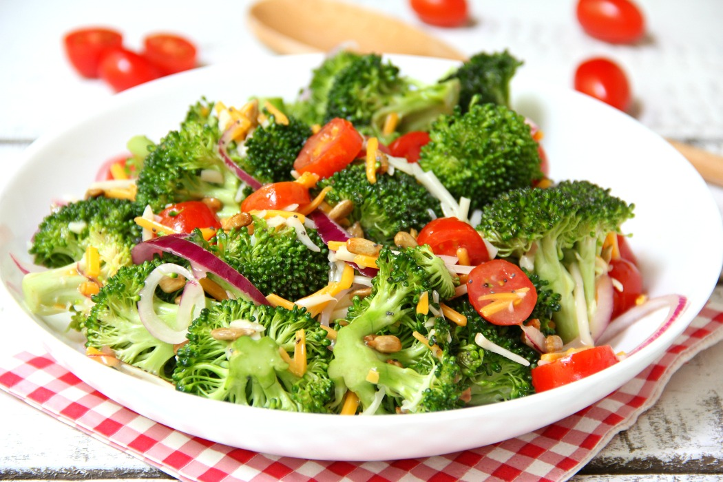 Broccoli and Tomato Salad