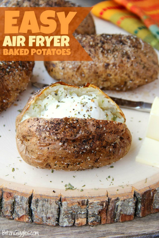 easy air fryer baked potatoes bitz