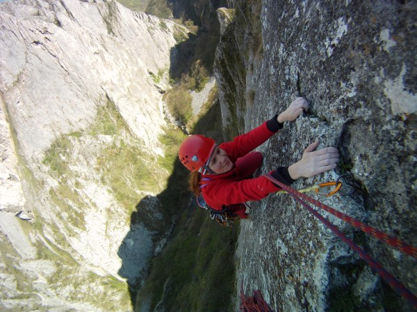 alpinism în Cheile Turzii