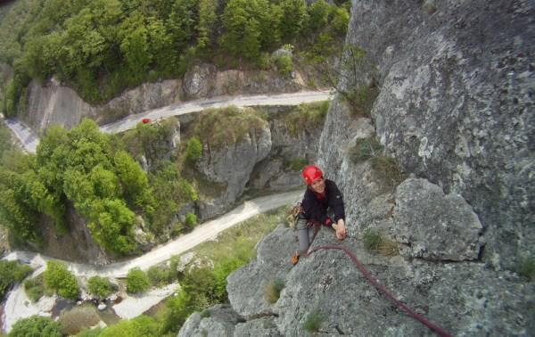 alpinism Baile Herculane, Coltul Bobot